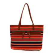 Bueno Nylon Double-Zip Tote