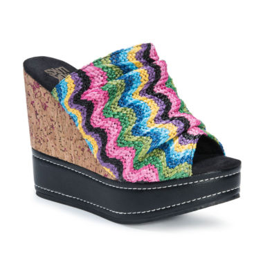 jcpenney.com | Muk Luks Peyton Womens Wedge Sandals
