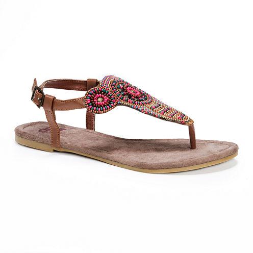 Muk Luks Margo Womens Gladiator Sandals