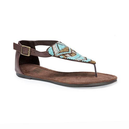 Muk Luks Zena Womens Gladiator Sandals