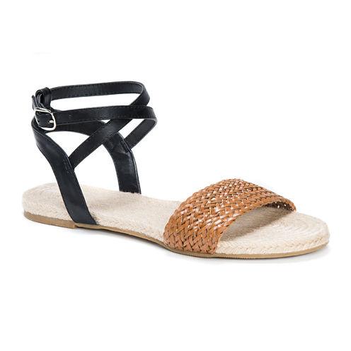 Muk Luks Cordelia Womens Flat Sandals