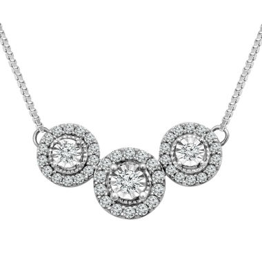 jcpenney.com | LIMITED QUANTITIES!  1/3 CT. T.W. Diamond 10K Gold Collar Necklace