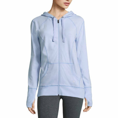 jcpenney.com | Xersion Long Sleeve Jersey Hoodie Talls