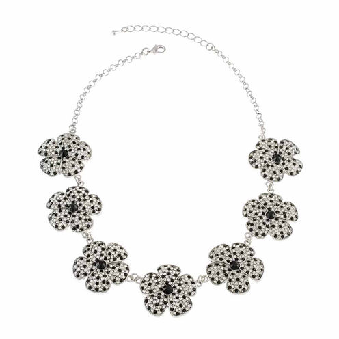 Cz By Kenneth Jay Lane Womens Collar Necklace