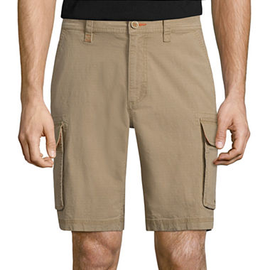 St. Johns Bay Stretch Ripstop Cargo Shorts (Multiple Colors)