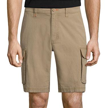 St. Johns Bay Stretch Ripstop Cargo Shorts