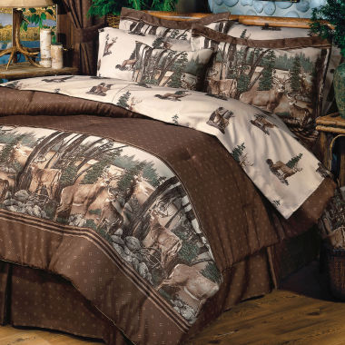 jcpenney.com | Blue Ridge Trading Whitetail Dreams Comforter Set King 4-pc. Heavyweight Comforter Set