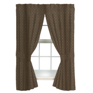 jcpenney.com | Blue Ridge Trading Whitetail Dreams Rod Pocket Lined 2-Pack Curtain Panels