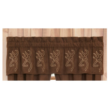 jcpenney.com | Browning Buckmark Suede Valance Valance