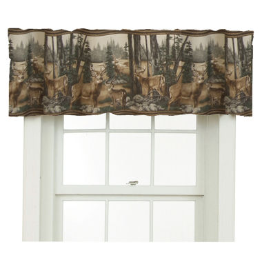 jcpenney.com | Blue Ridge Trading Whitetail Dreams Valance Valance