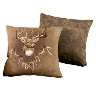 jcpenney.com | Blue Ridge Trading Whitetail Ridge Square Pillow Bed Rest Pillow