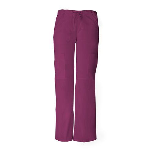 Dickies® Womens Low-Rise Cargo Scrub Pants–Tall