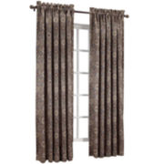 Sun Zero™ Melanie Rod-Pocket Room-Darkening Curtain Panel