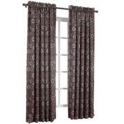 Sun Zero™ Melanie Rod-Pocket Room-Darkening Curtain Panel