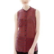 L'Amour by Nanette Lepore Sleeveless Woven Top