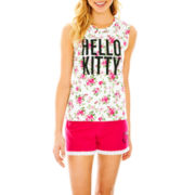 Hello Kitty® Tank Top and Shorts Pajama Set