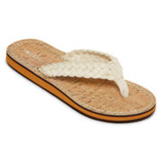 Mixit™ Cotton Braided Thong Sandals