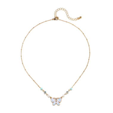 jcpenney.com | Mixit™ Gold-Tone Butterfly Pendant Necklace