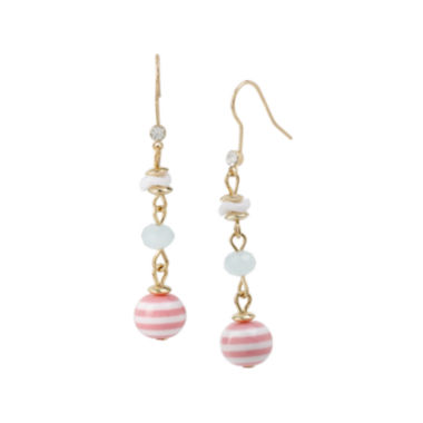 jcpenney.com | Mixit™ Gold-Tone Multi Drop Earrings