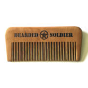 Bearded Soldier Wood Beard Comb