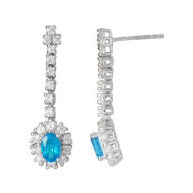 jcpenney.com | LIMITED QUANTITIES  Genuine Neon Appetite Sterling Silver Linear Earrings