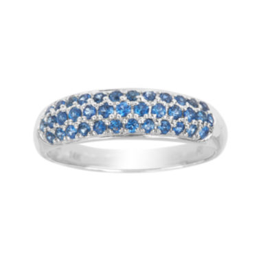 jcpenney.com | LIMITED QUANTITIES  Genuine Blue Sapphire 14K White Gold Ring
