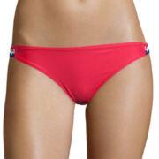 Arizona Americana Macramé Hipster Swim Bottoms - Juniors