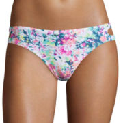 Arizona Escapade Floral Hipster Swim Bottoms - Juniors