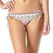 Arizona Gypsy Side-Tie Hipster Swim Bottoms - Juniors