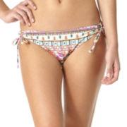 Arizona Gypsy Side-Tie Hipster Swim Bottoms - Juniors