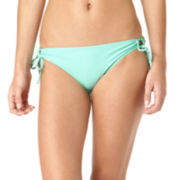 Arizona Sweet Pea Side-Tie Hipster Swim Bottoms - Juniors