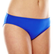 Liz Claiborne® Solid Hipster Swim Bottom