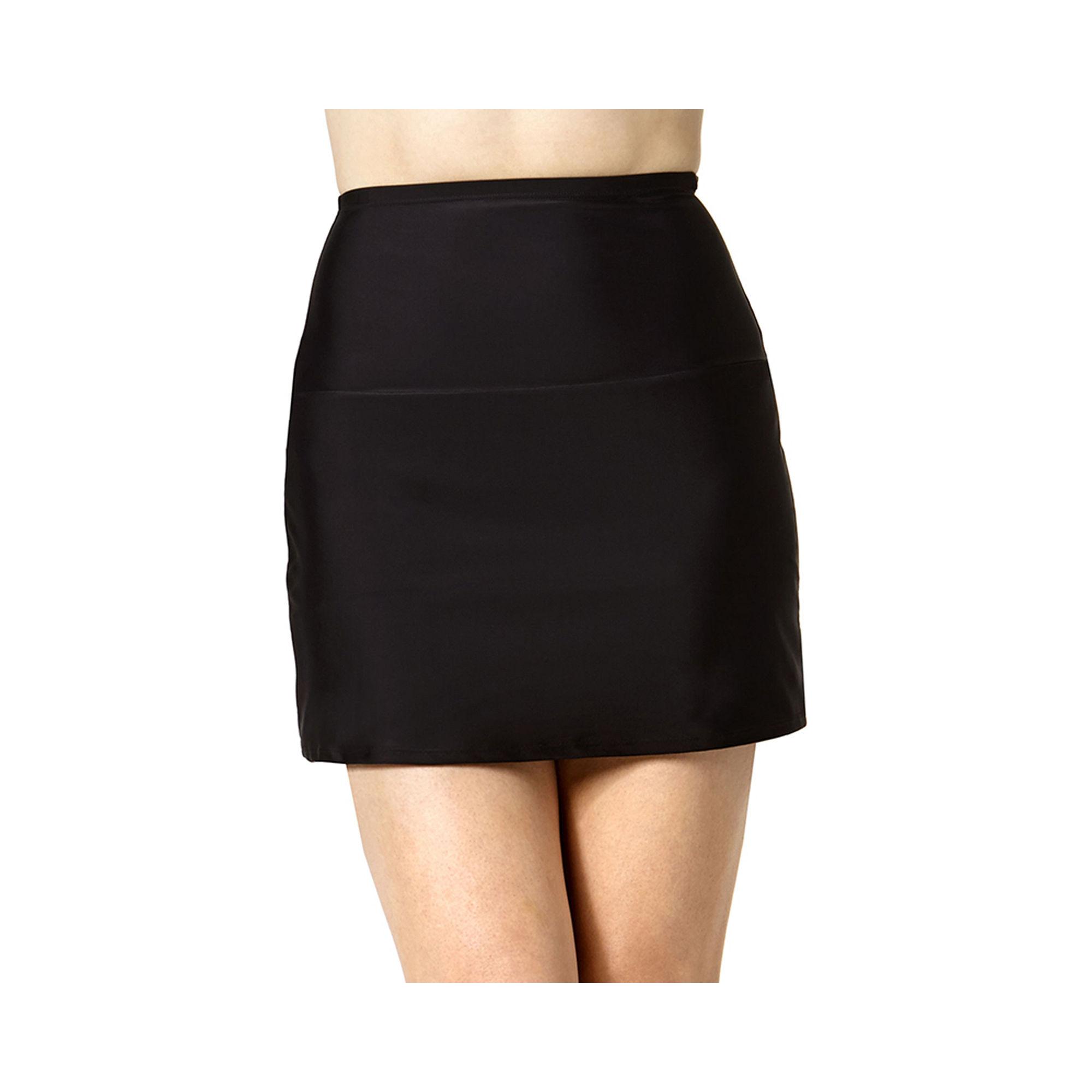 St. John's Bay High-Waist Skirted Swim Bottom plus size,  plus size fashion plus size appare
