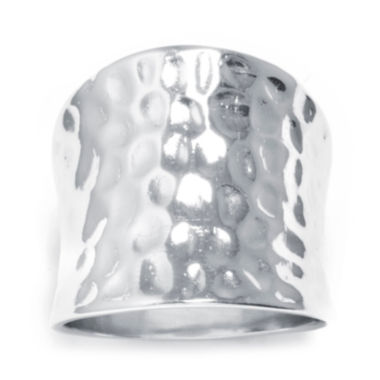 jcpenney.com | Sterling Silver Concave Hammered Ring