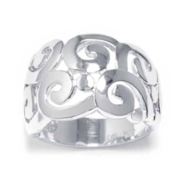 jcpenney.com | Sterling Silver Scroll Ring