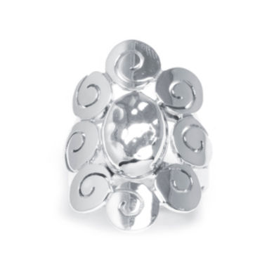 jcpenney.com | Sterling Silver Oval Scroll Ring