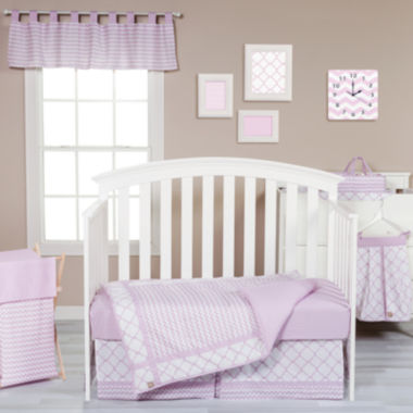 jcpenney.com | Trend Lab® Orchid Bloom 3-pc. Crib Bedding Set