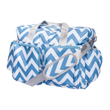 jcpenney.com | Trend Lab® Chevron Deluxe Duffel Diaper Bag