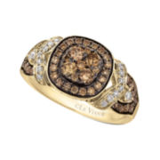CLOSEOUT! Le Vian Grand Sample Sale 7/8 CT. T.W. White and Chocolate Diamond Ring