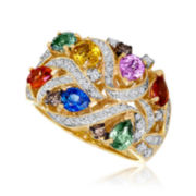 Le Vian Grand Sample Sale Genuine Multicolor Sapphire Ring
