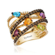 CLOSEOUT! Le Vian Grand Sample Sale Genuine Multicolor Stone Gladiator Ring
