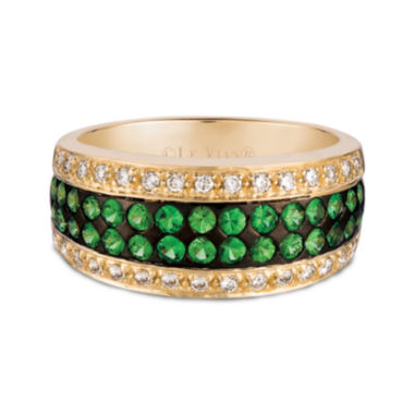 jcpenney.com | LIMITED QUANTITIES  Le Vian Grand Sample Sale Genuine Tsavorite and Diamond Ring