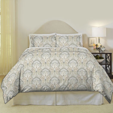 jcpenney.com | Pointehaven Cedar 200tc Duvet Cover Set