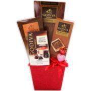 Alder Creek Godiva Chocolate Indulgence Gift Basket