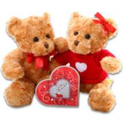 Alder Creek Hugs & Kisses Teddy Bear Gift Set