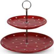 Maxwell & Williams™ Sprinkle 2-Tier Cake Stand