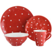 Maxwell & Williams™ Sprinkle Polka Dot 4-pc. Place Setting