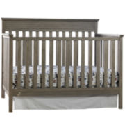 Bivona Newbury Convertible Crib - Antique Gray