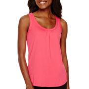 Liz Claiborne® Sleeveless Knit Tank Top