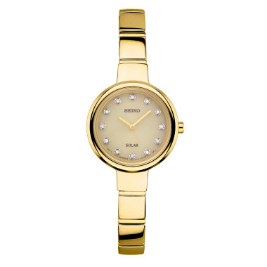 jcpenney.com | Seiko Womens Gold Tone Bangle Watch-Sup366